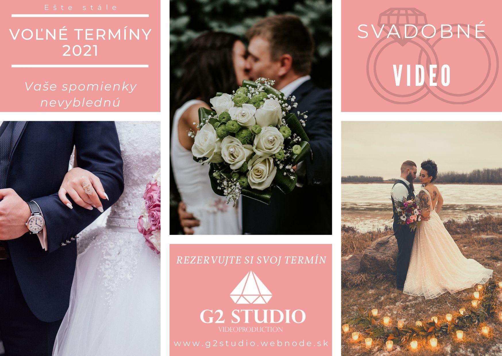 Vaše svadobné VIDEO  😉 Prjímam rezervácie na sezónu 2021 aj 2022 🙂 polovica termínov na sezónu 2021 obsadená, tak neváhajte napíšte a rezervujte si váš termín. 😉 - Obrázok č. 1