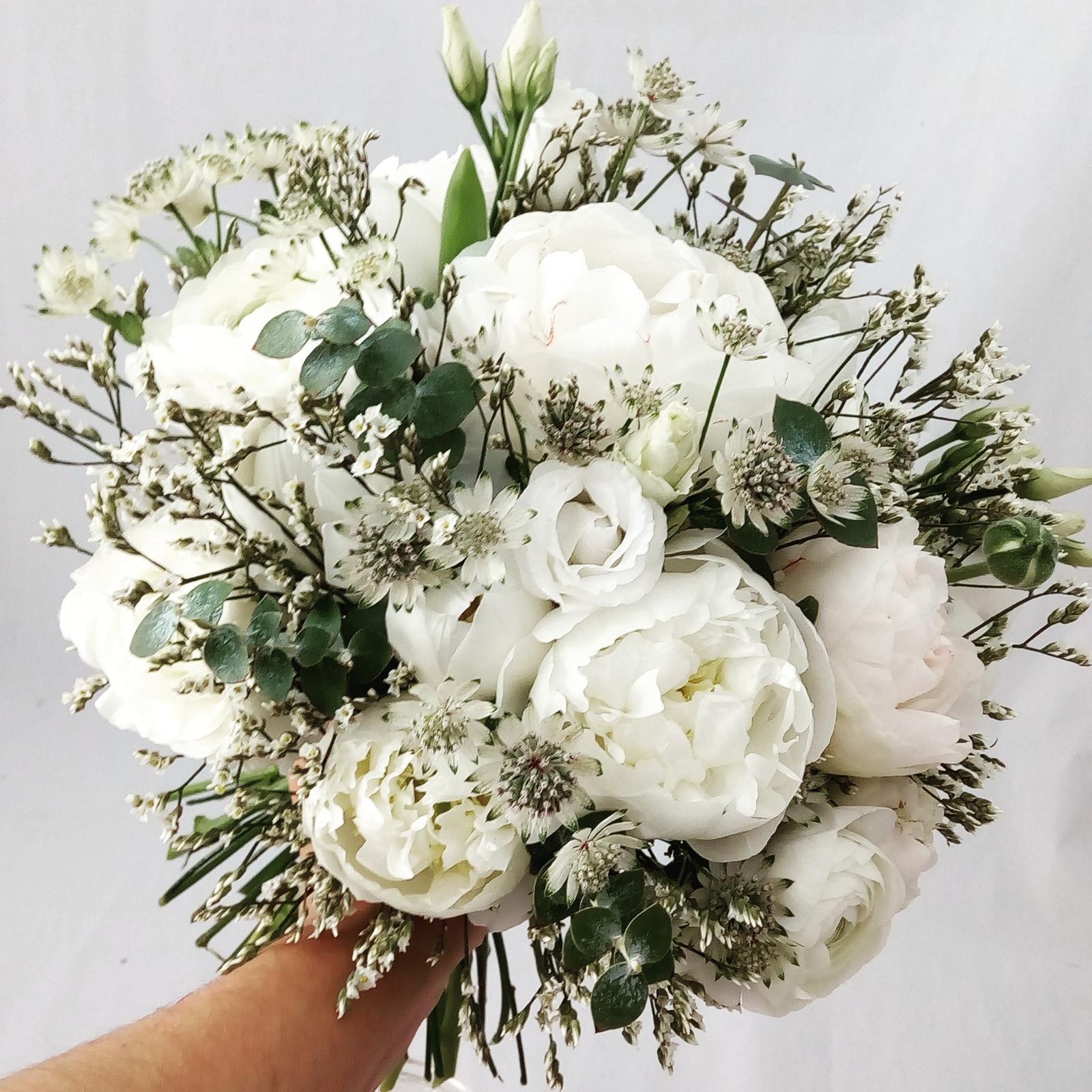 Svatební kytice z Rozkvetlé dílny - Obrázek č. 1