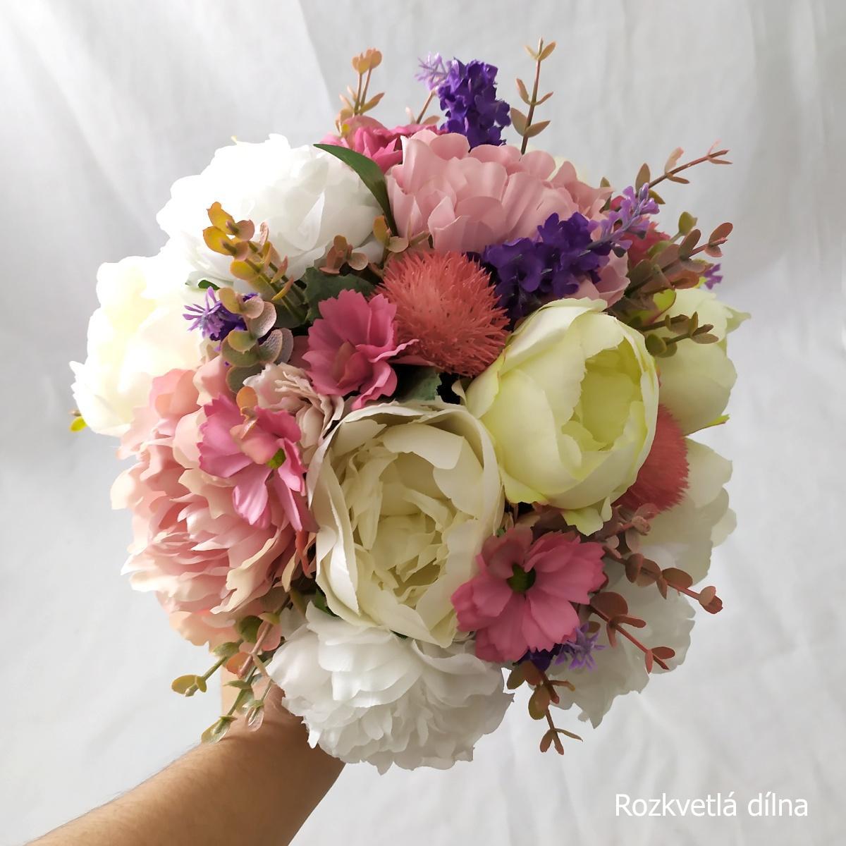 Látkové květiny z Rozkvetlé dílny - Obrázek č. 3