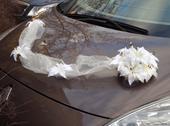 Šerpa na auto nevěsty,