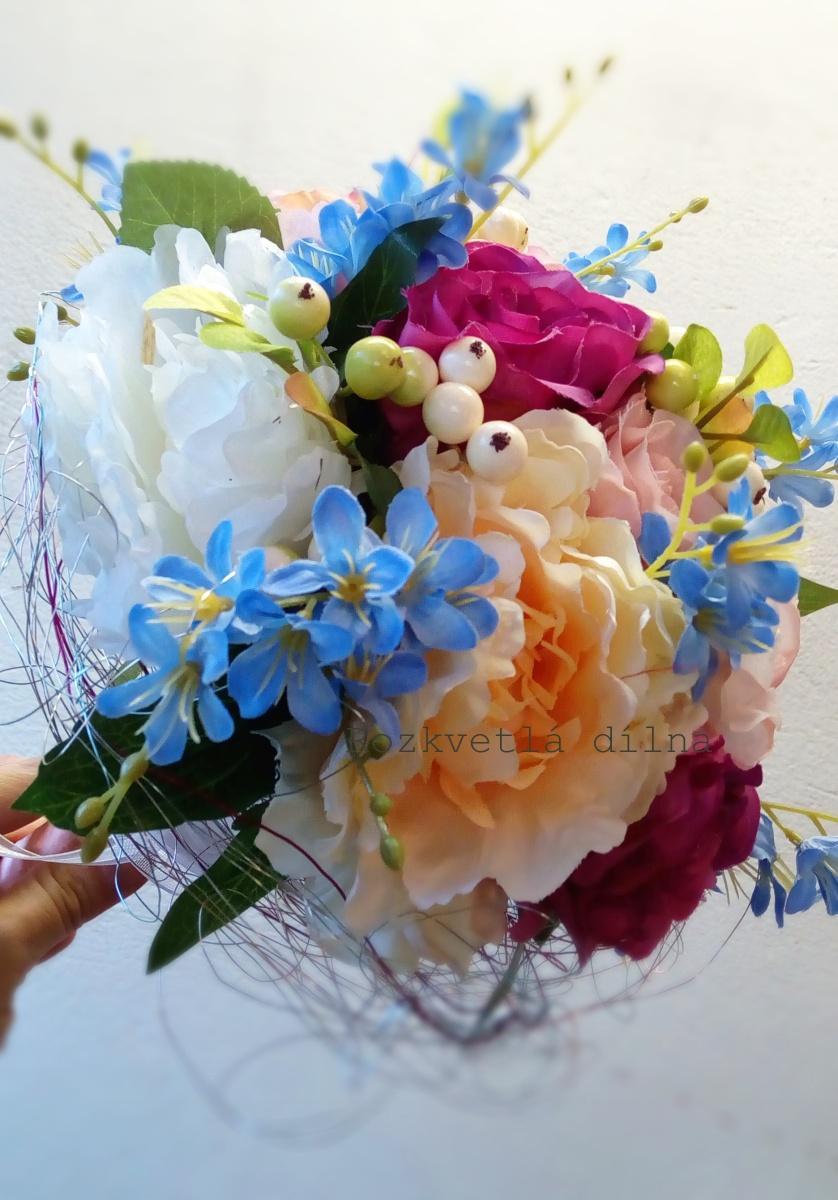 Romantic - umělá kytice - Obrázek č. 1