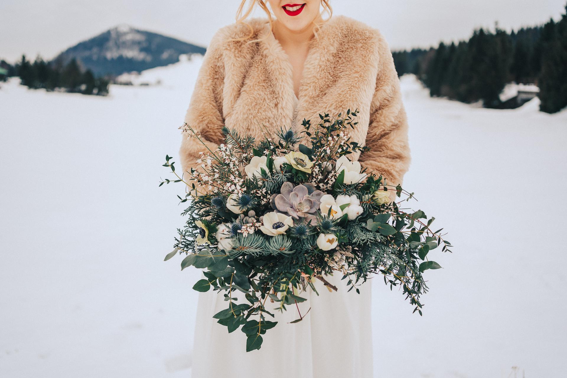 Romantická zimní svatba - Obrázek č. 2