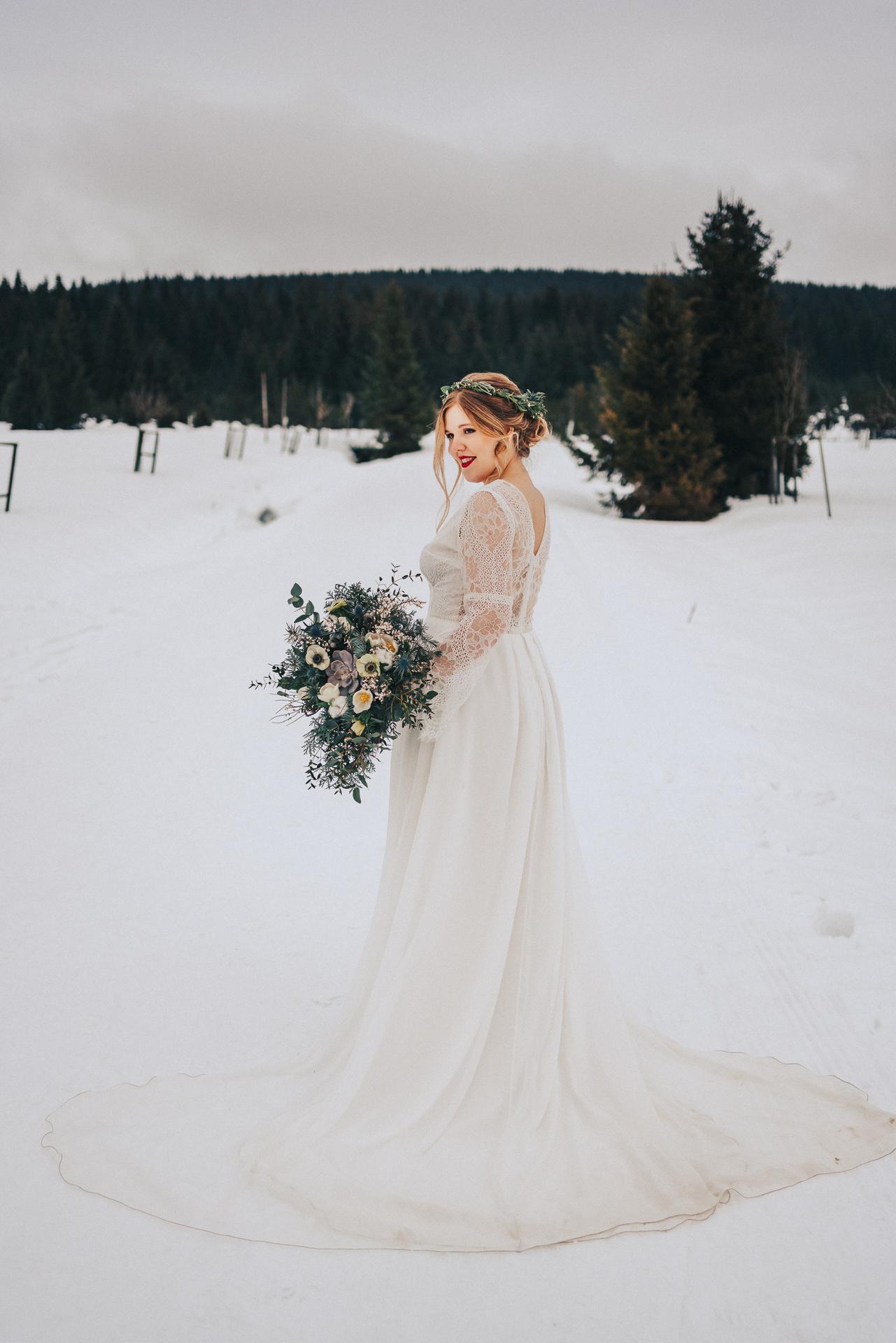 Romantická zimní svatba - Obrázek č. 3