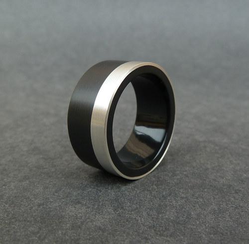 Cerne Snubni Prsteny Svatebni Prsteny