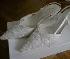 moje svadobné črievičky