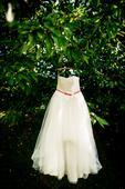 Tylové svatební šaty- prodej, 40