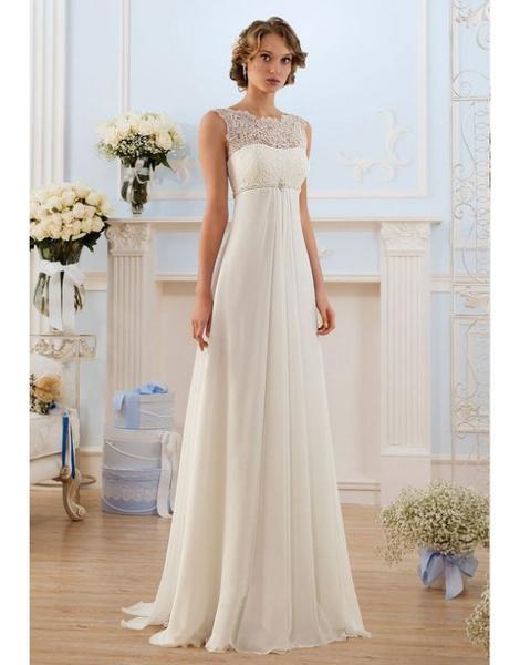 Krémové svatební šaty XS-S - - Svatební šaty 7d9c64712f