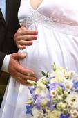 Bile satenove svatebni saty , 42
