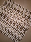 Papírová brčka - mix vzorů - bílo zlatá barva,