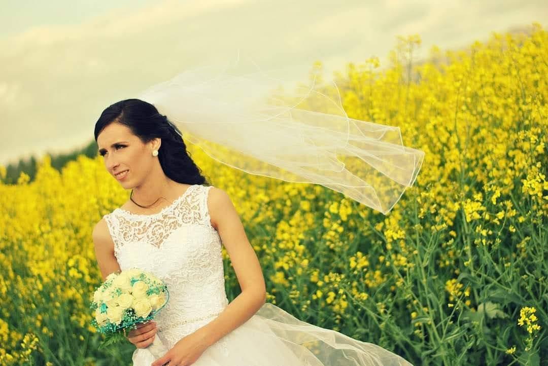 Predám krásne svadobné šaty Veľkosť... - Obrázok č. 1
