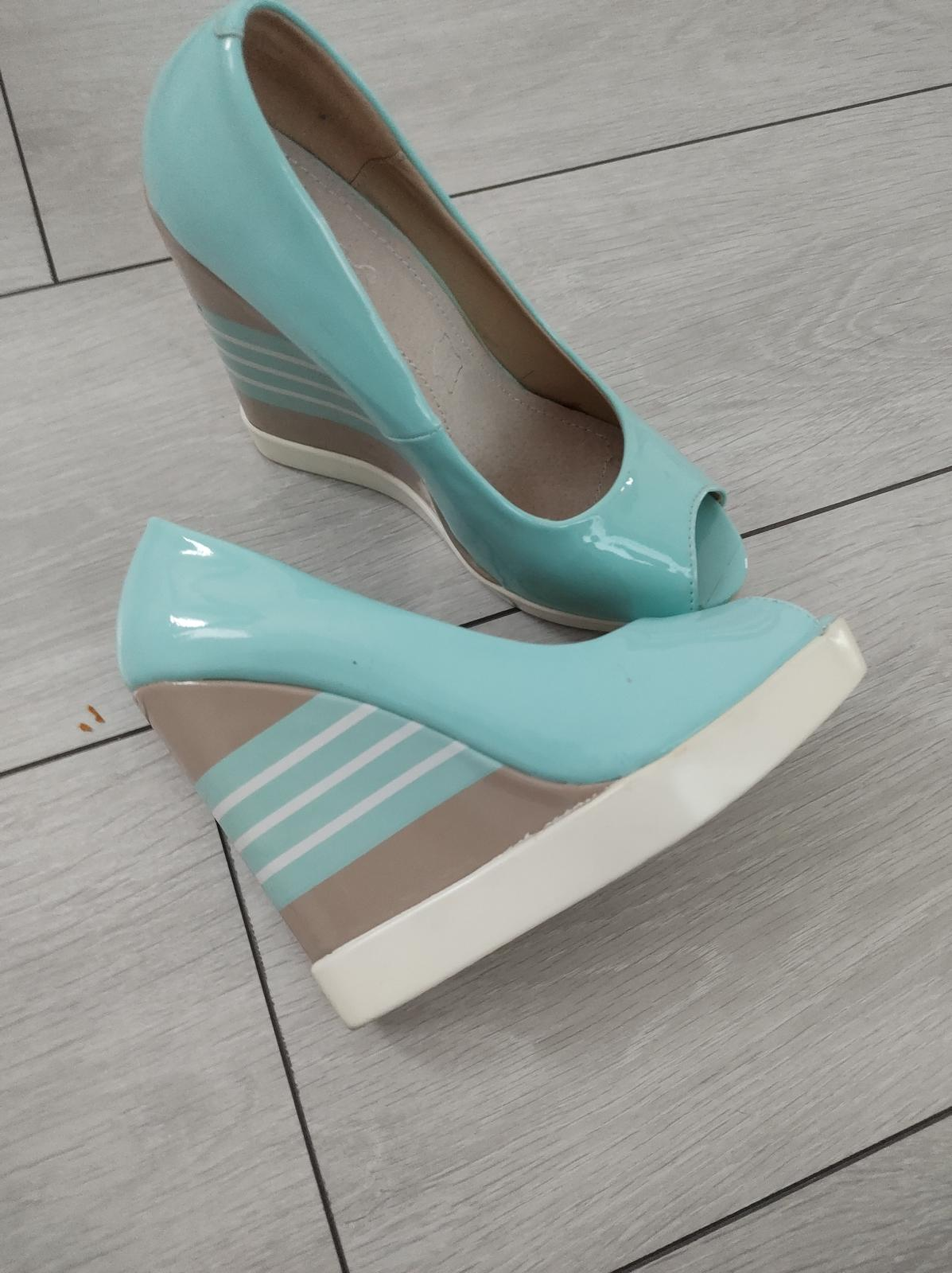 sandále na platforme - Obrázok č. 1