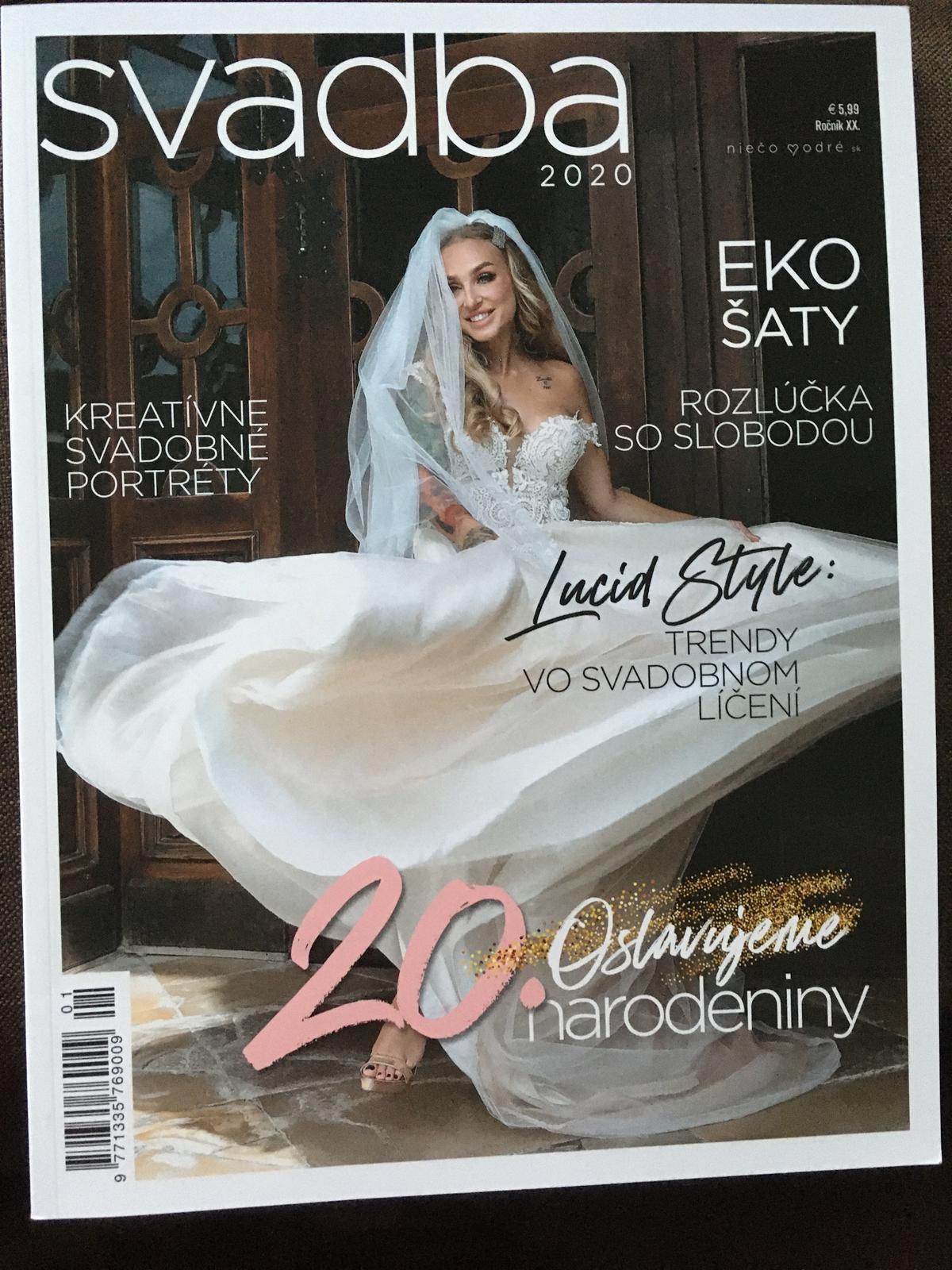 Časopis SVADBA 2020 - Obrázok č. 1