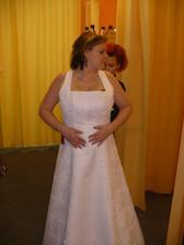 moje šaty - druhá zkouška