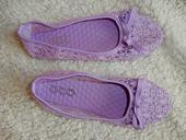 Balerínky, fialové (lila), 37