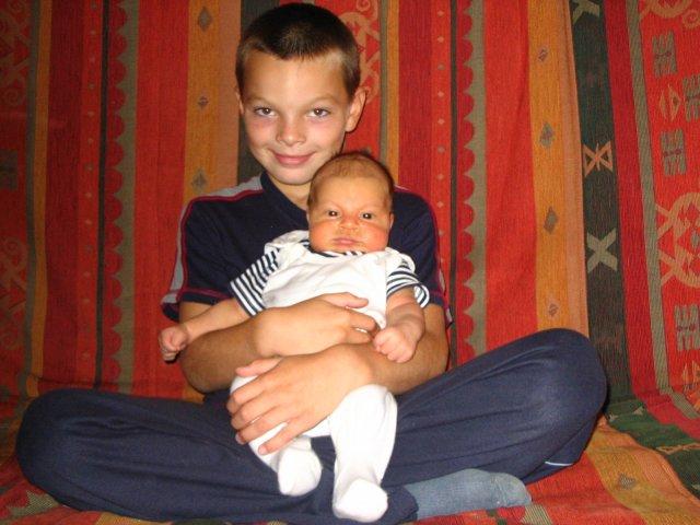 Magdalena Zamrazilová{{_AND_}}Jaroslav Bednář - Bráchové :o)) srpen 2006