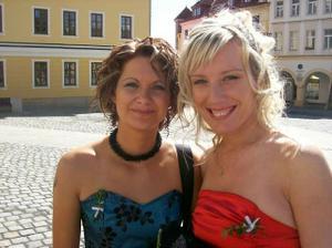 moje svědkyně Lucka s Moni
