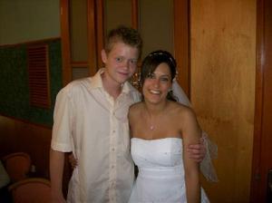 S nejmladším bratrem...