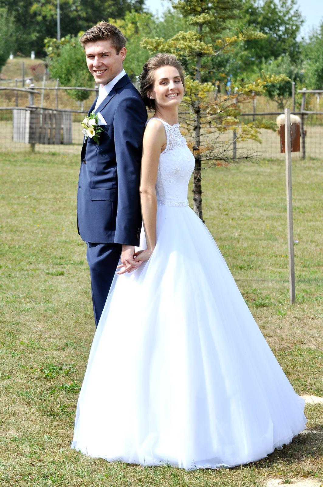 Svadobné šaty - vel.32 - Obrázok č. 2