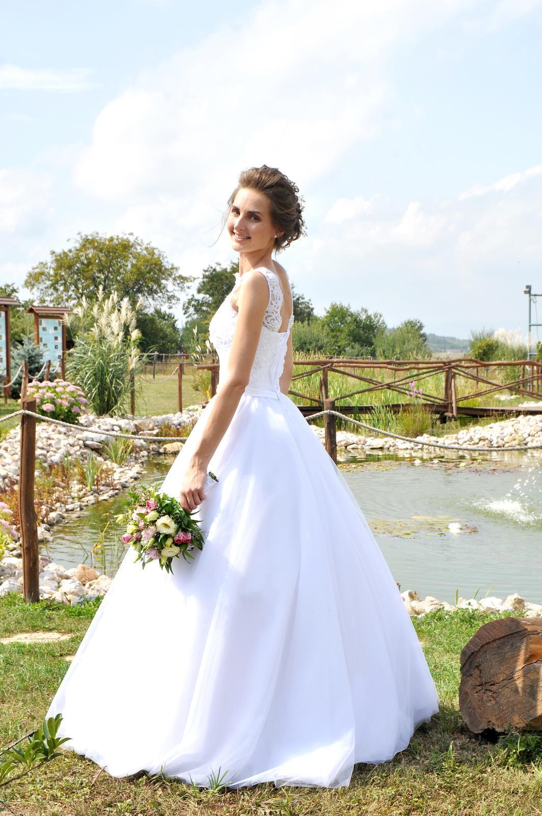Svadobné šaty - vel.32 - Obrázok č. 1