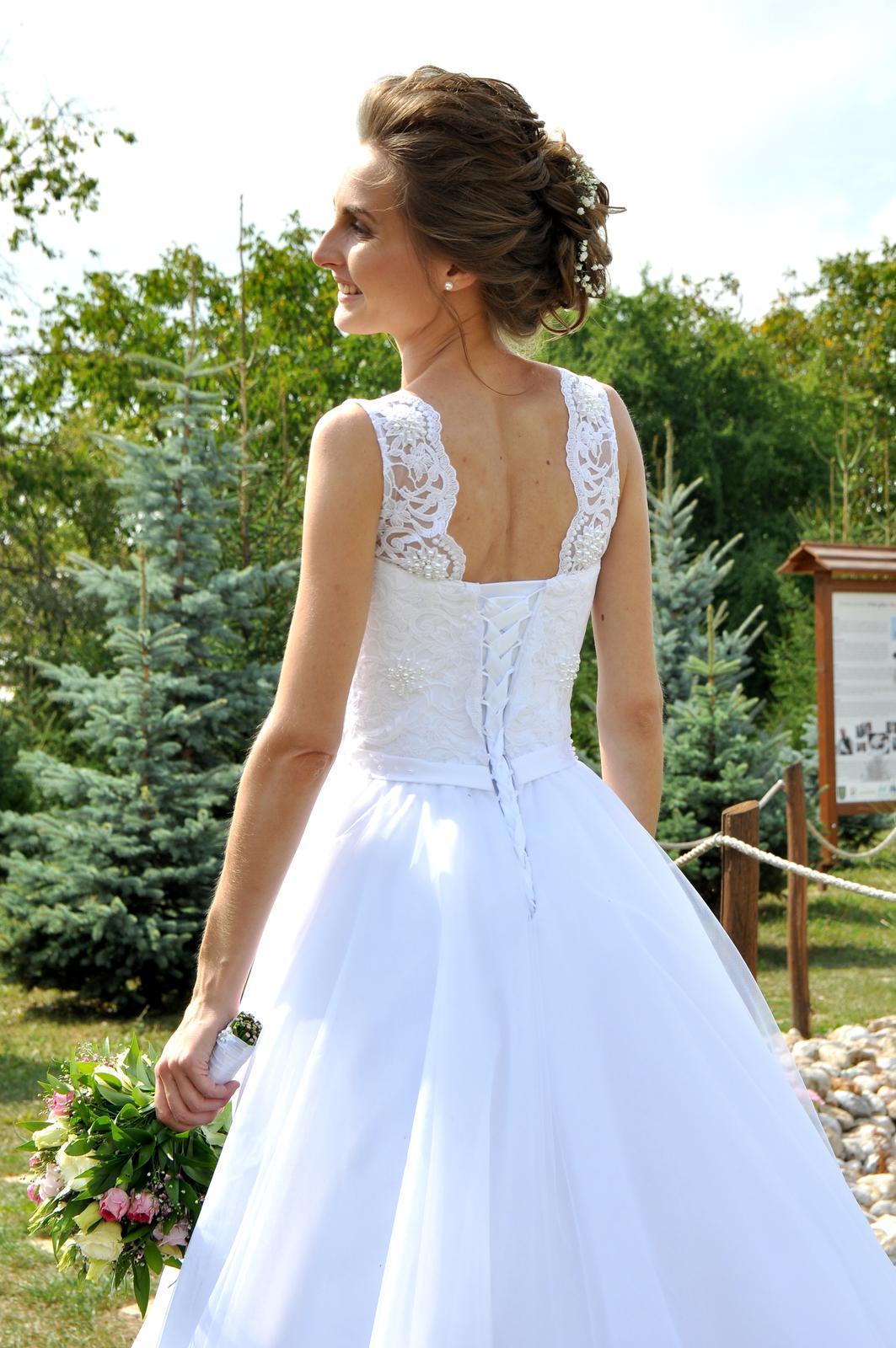 Svadobné šaty - vel.32 - Obrázok č. 3