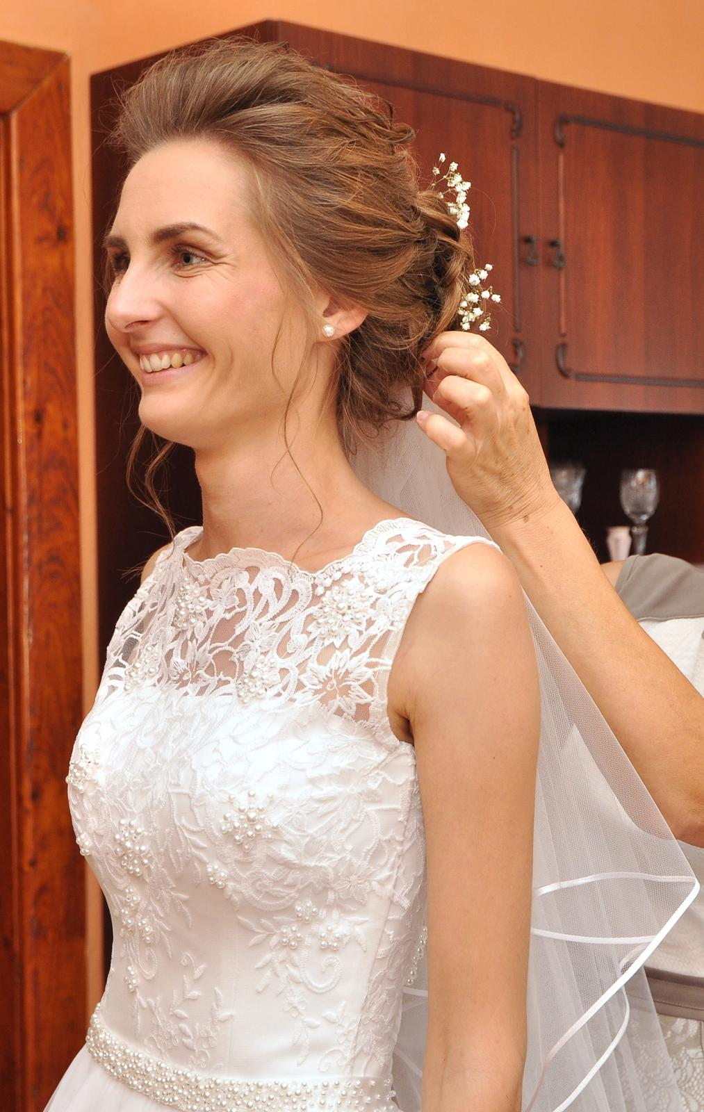Svadobné šaty - vel.32 - Obrázok č. 4