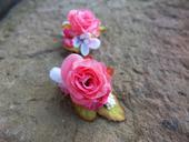 Dvě růžové růžičky,