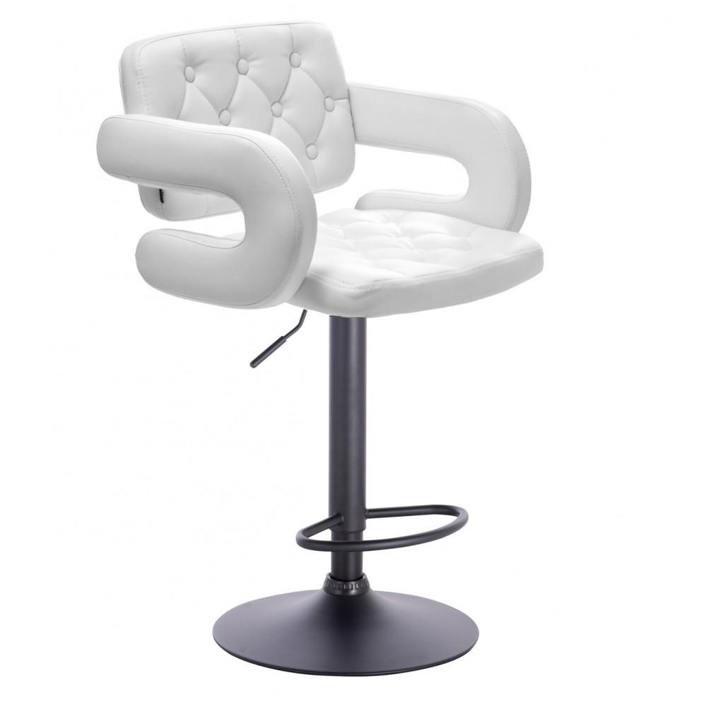 Barové stoličky v LUXUSNEJ bielej - Obrázok č. 2