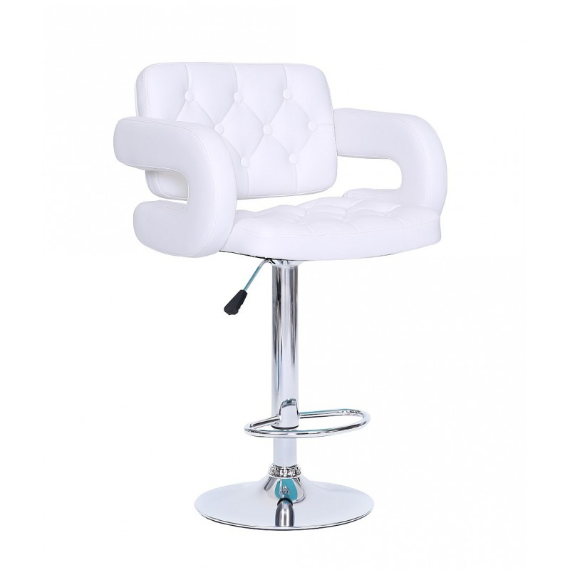 Barové stoličky v LUXUSNEJ bielej - Obrázok č. 3