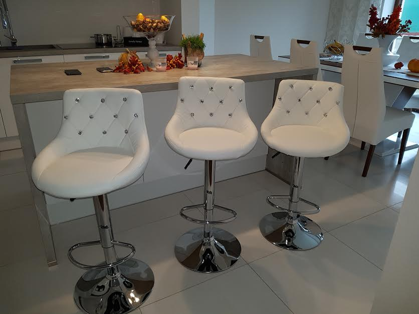 Barová stolička Unicum White - Obrázok č. 1