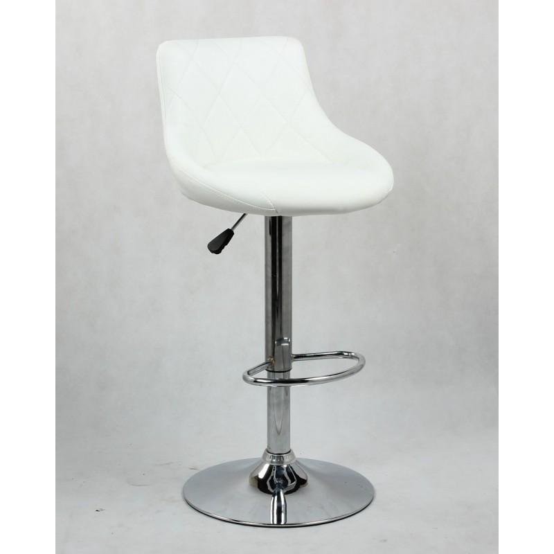 Barová stolička Modena White - Obrázok č. 1