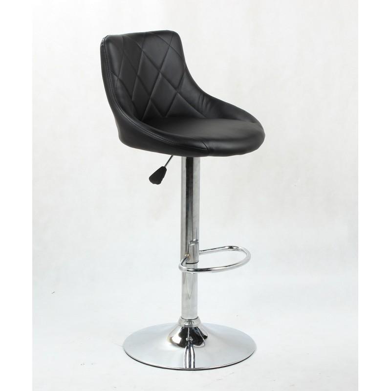 Barová stolička Modena Black - Obrázok č. 1