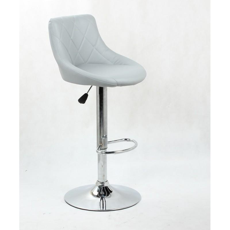 Barová stolička Modena Silver - Obrázok č. 1