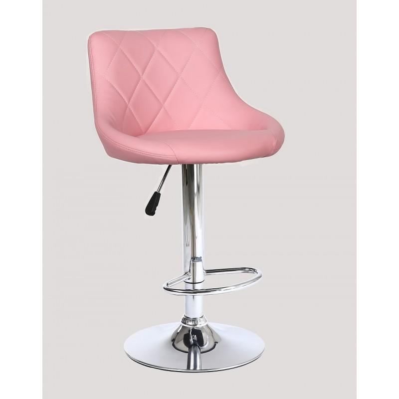 Barová stolička Modena Pink - Obrázok č. 1