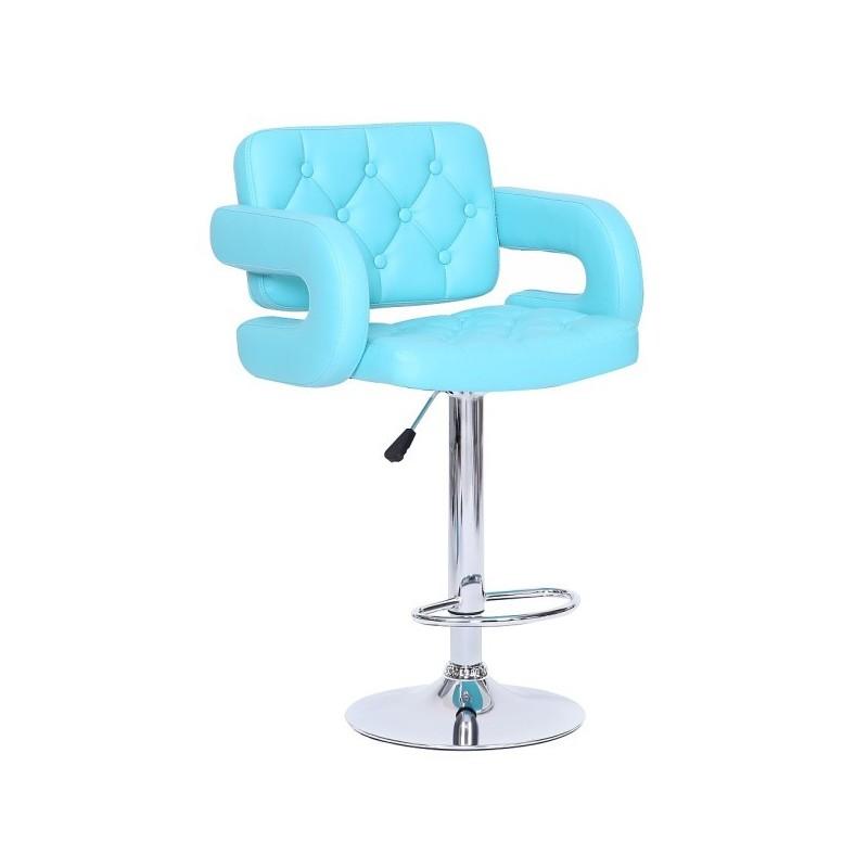 Barová stolička Eliza Blue - Obrázok č. 1