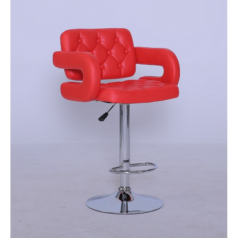 Barová stolička Eliza Red - Obrázok č. 1