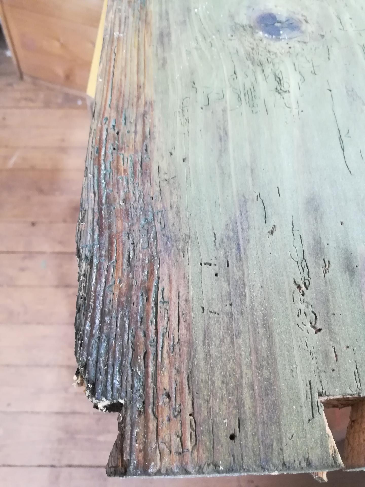 Storočná svadobná truhlica - Túto časť asi zrežem