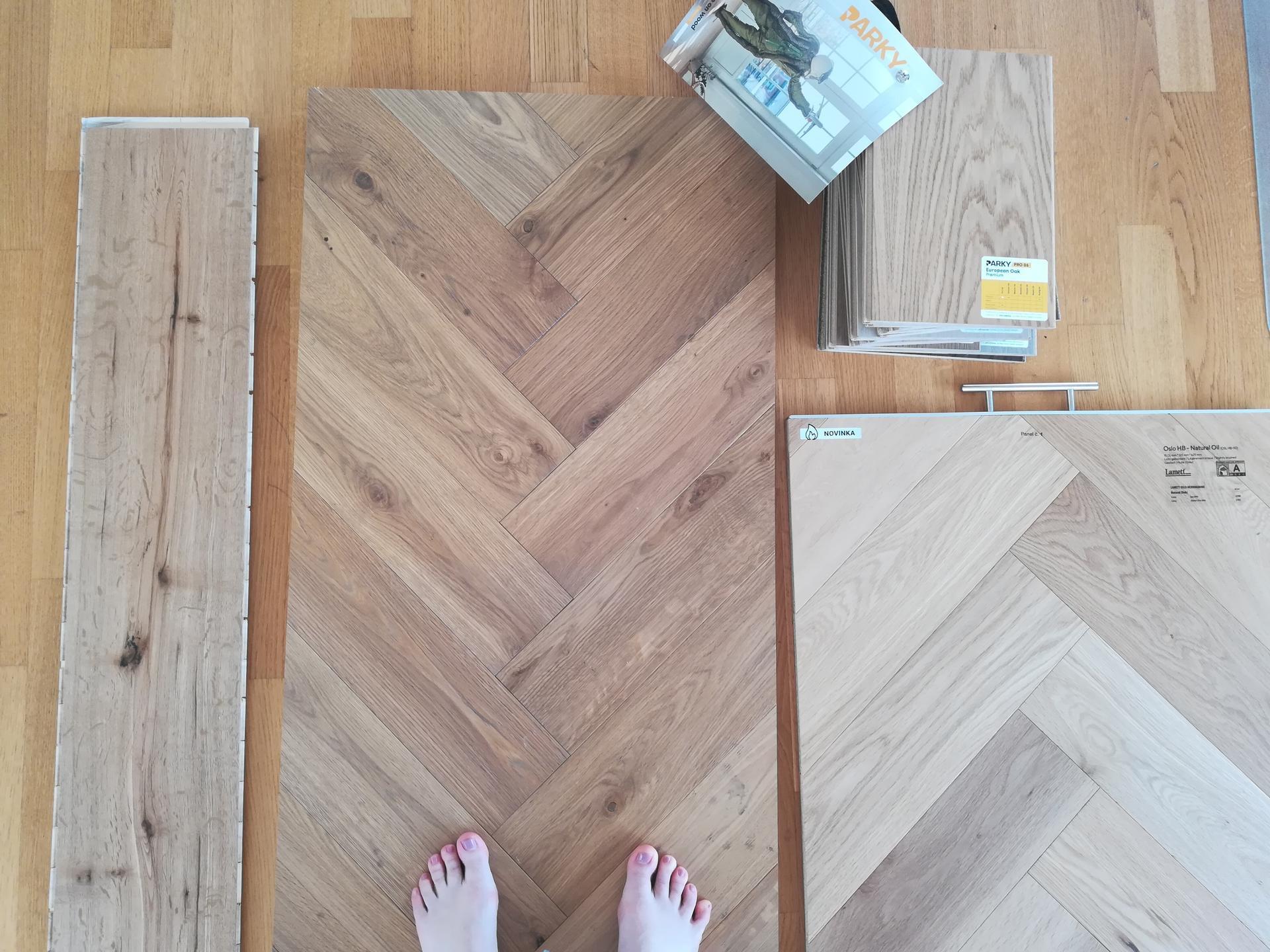 Premena bytu- inšpirácie - Vyberáme podlahu