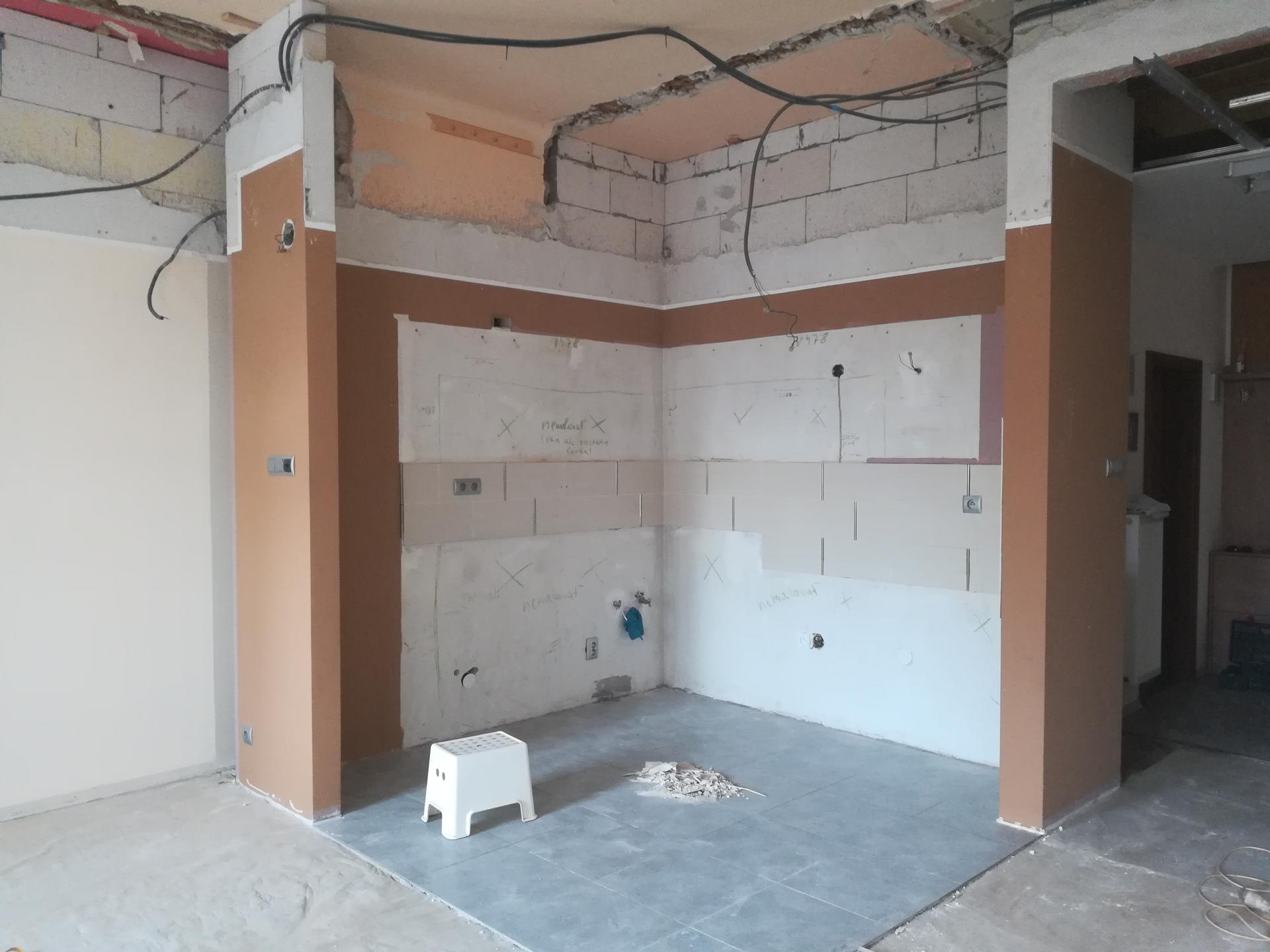 Kuchyňa 2 - V procese.