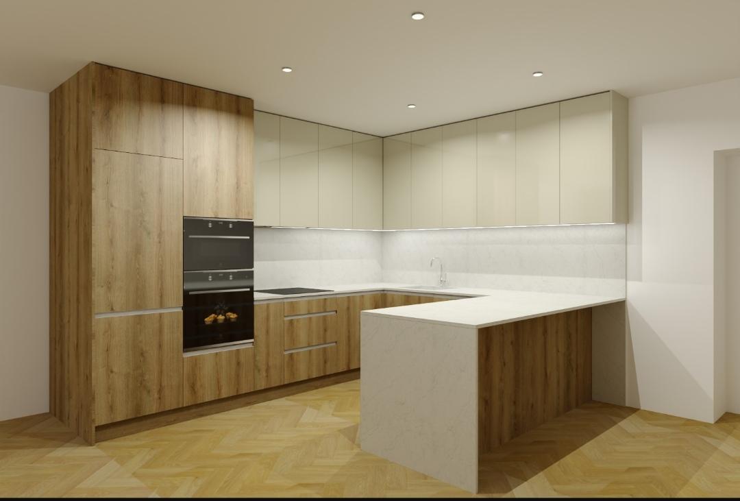 Kuchyňa 2 - Návrh našej budúcej.