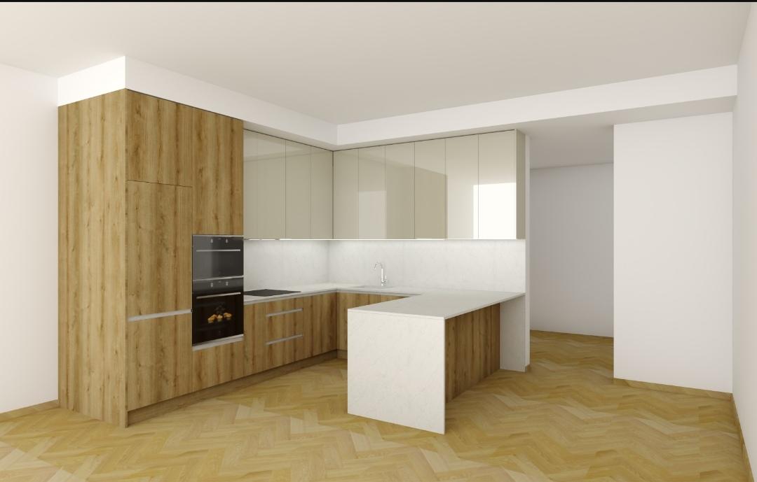 Kuchyňa 2 - Upravené na konkrétnu výšku.