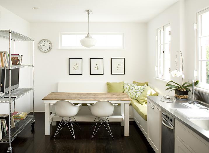 Kuchyně a jídelna - inspirace - A další lavice!