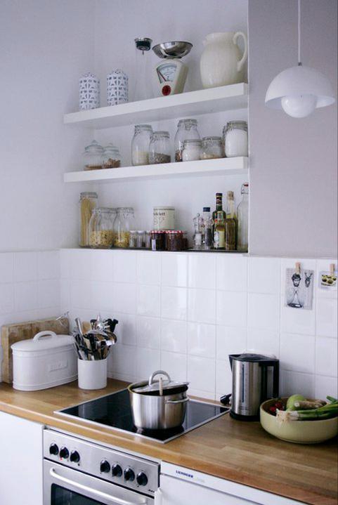 Kuchyně a jídelna - inspirace - Úplně jednoduchý obklad... proč ne?