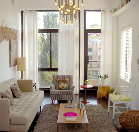 Obývák... inspirace - designový lustr...och!