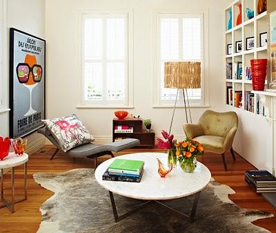 Obývák... inspirace - vtipný interiér!