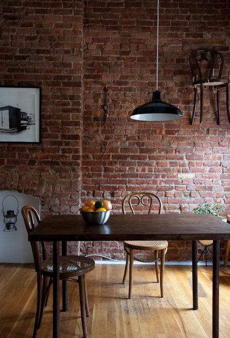 Kuchyně a jídelna - inspirace - staré židle...mám ráááda!
