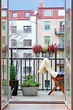 dalo by se tohle udělat na panelákovém balkóně? hm....