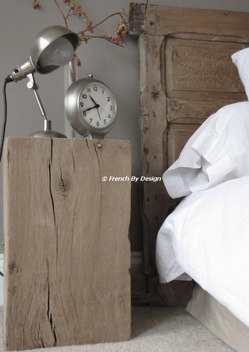 Ložnice... inspirace - noční stolek!