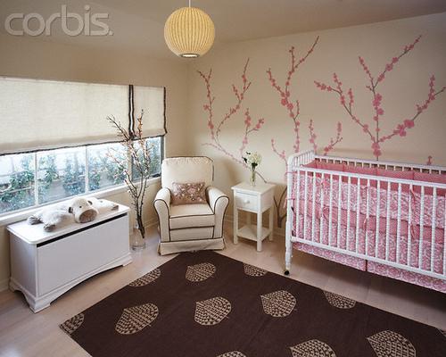 Dětský pokoj... - na stěně bude určitě strom!