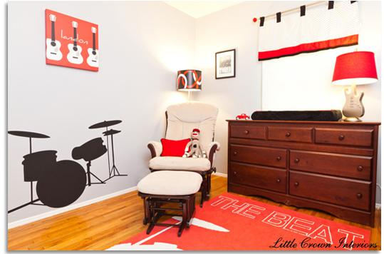 Dětský pokoj... - manžel je rocker, tak že by? ;-)