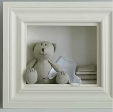 medvěd v rámu...rozkošné!